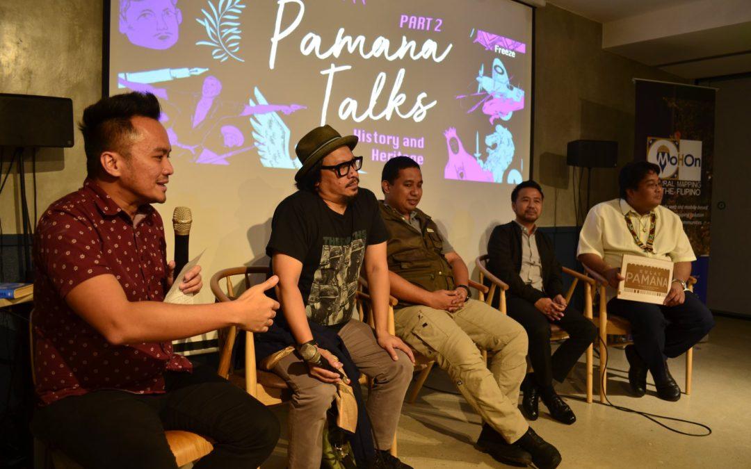 Pamana Talks connect history, heritage