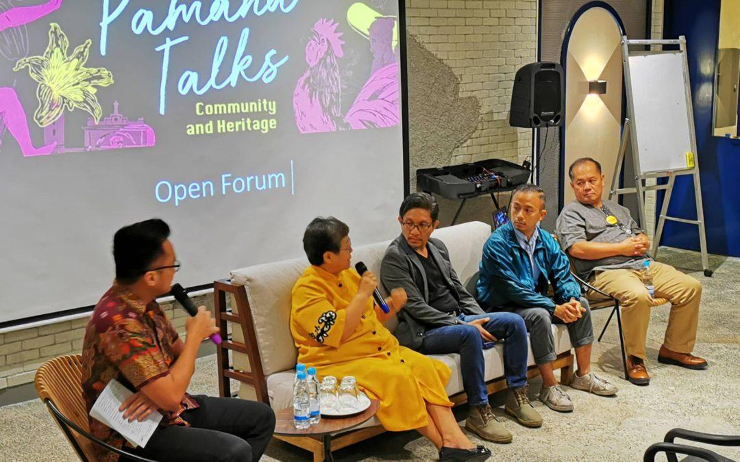 GKI highlights community in 3rd Pamana Talks