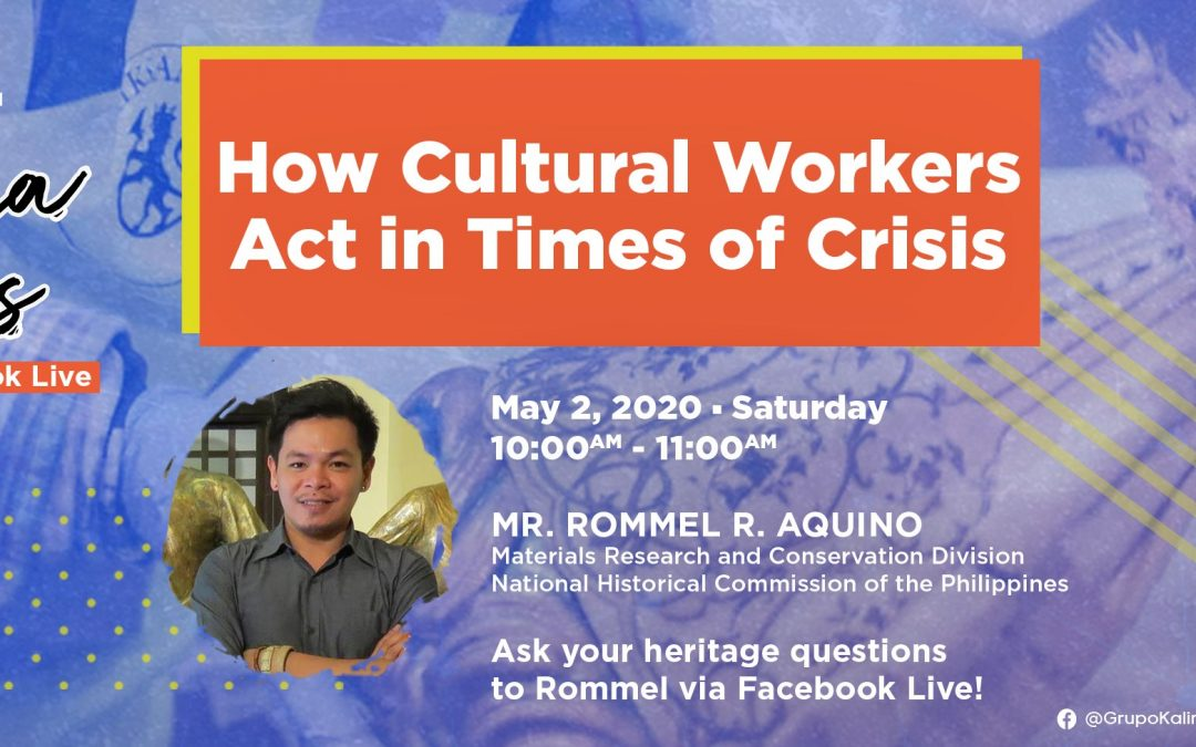 NHCP senior researcher talks about cultural work in times of crisis