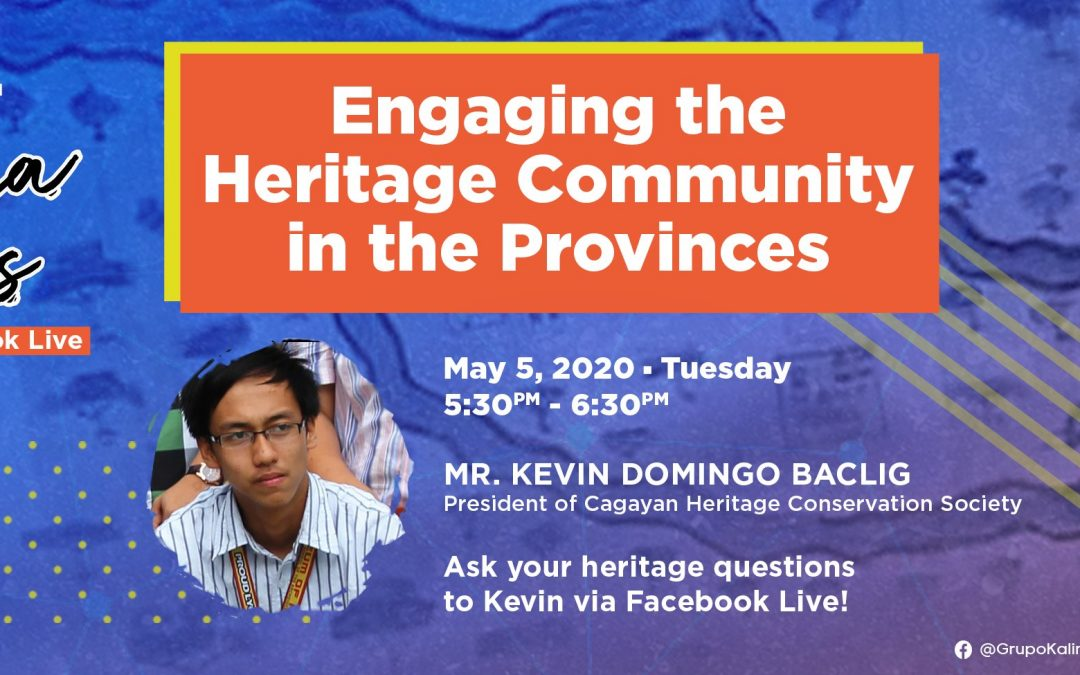 Pamana Talks: Engaging the Heritage Community in the Provinces