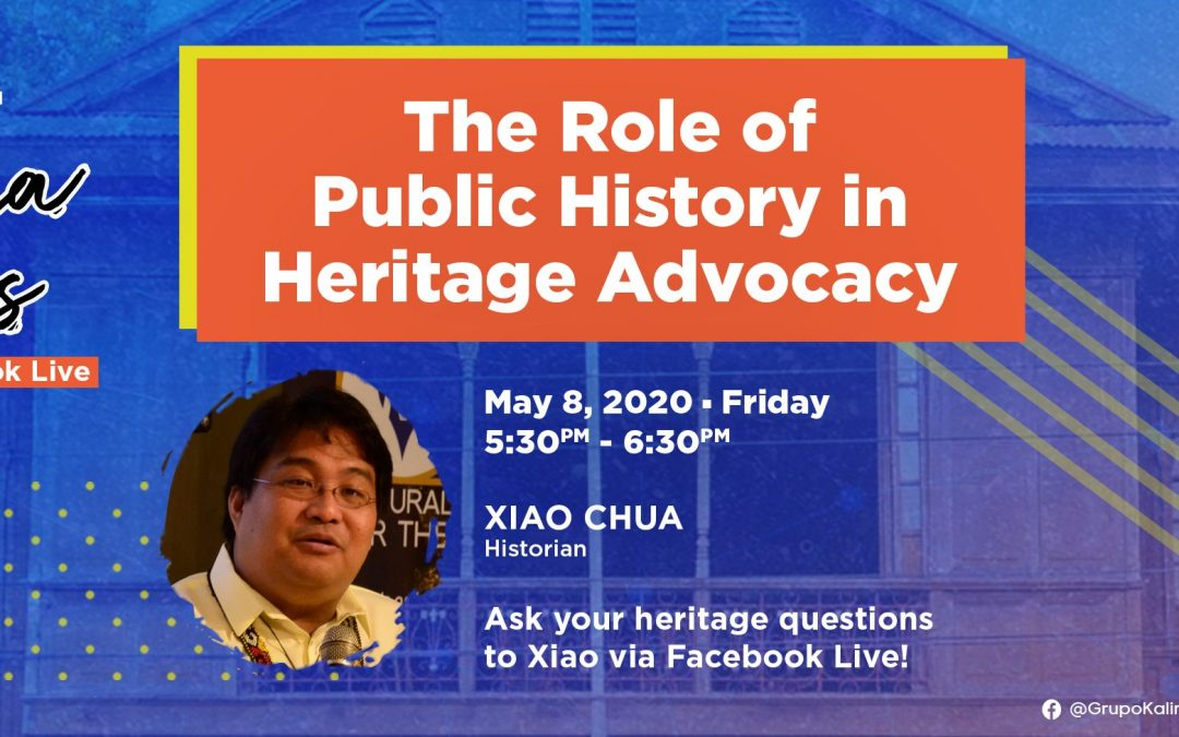 Pamana Talks: The Role of Public History in Heritage Advocacy