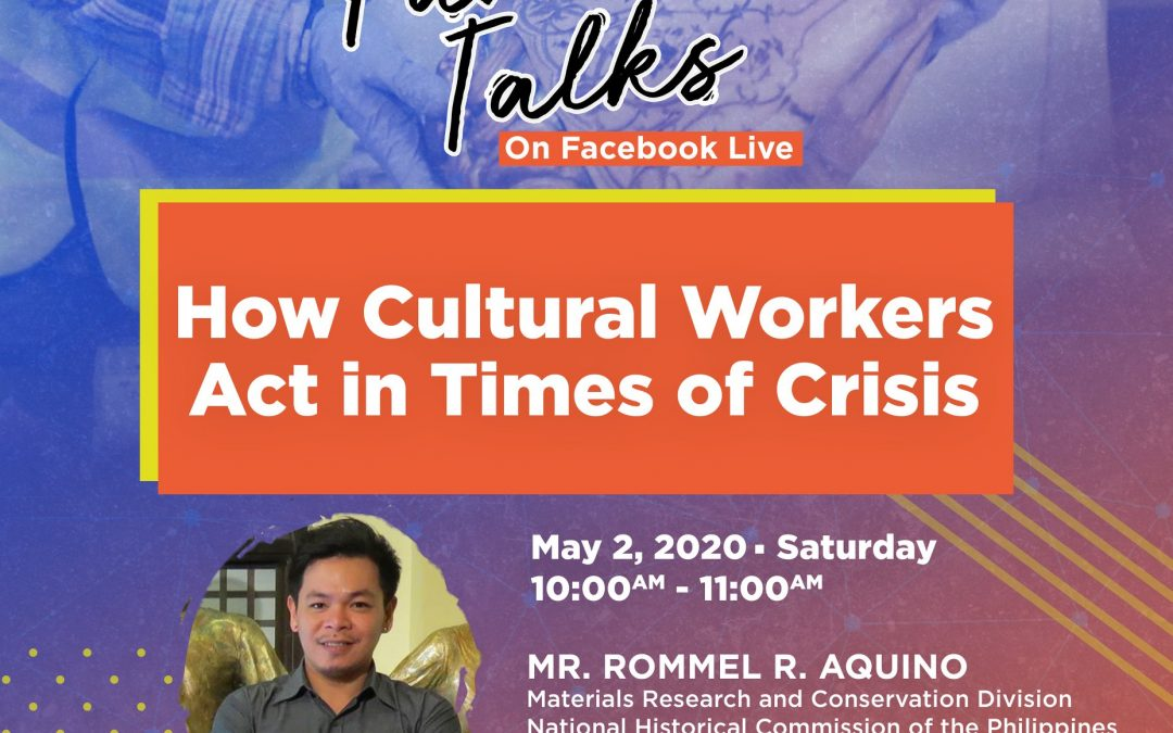 Pamana Talks: How Cultural Workers Act in Times of Crisis