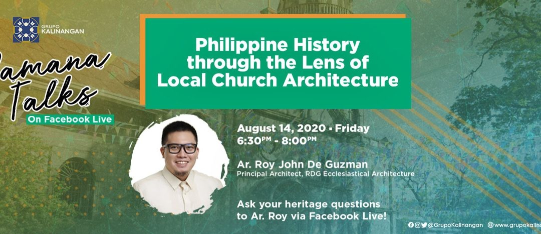 PAMANA TALKS: Philippine History Through the Lens of Local Church Architecture