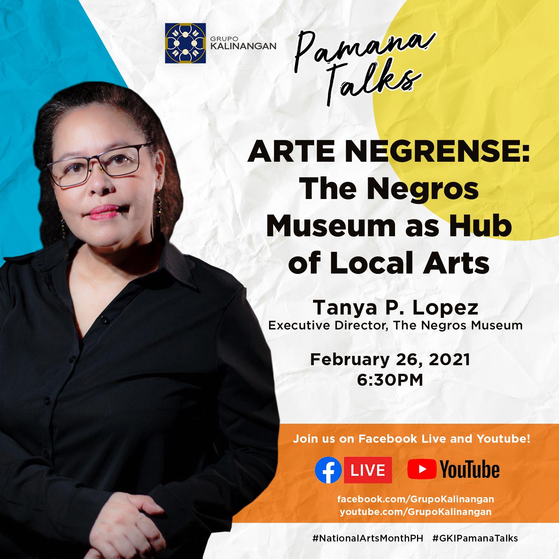 PAMANA TALKS – Arte Negrense: The Negros Museum as Hub of Local Arts